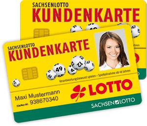 Die SACHSENLOTTO-Kundenkarte