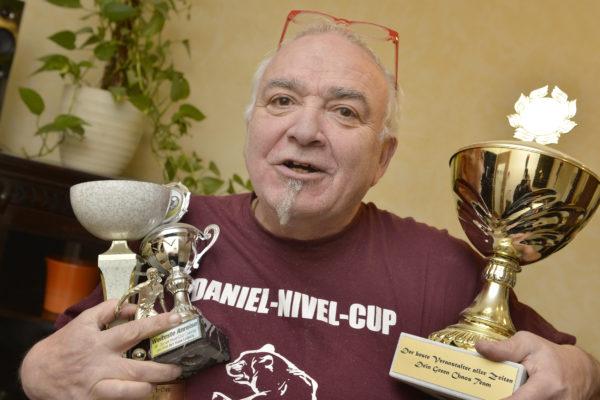 Pedro Feller, der Organisator des Daniel-Nivel-Cups