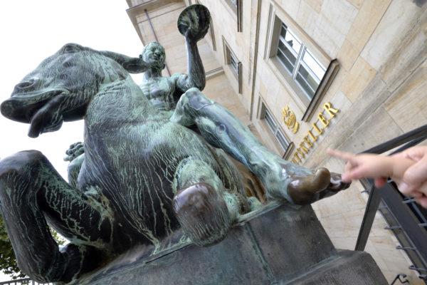 Der Fuß vom Bacchus, Foto: Volkmar Heinz