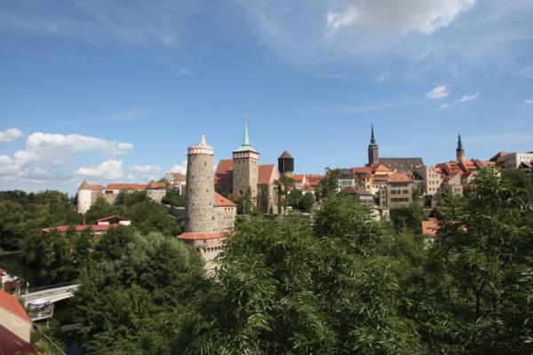 Altstadtpanorama Bautzen Heimat des 130. LOTTO-Millionärs