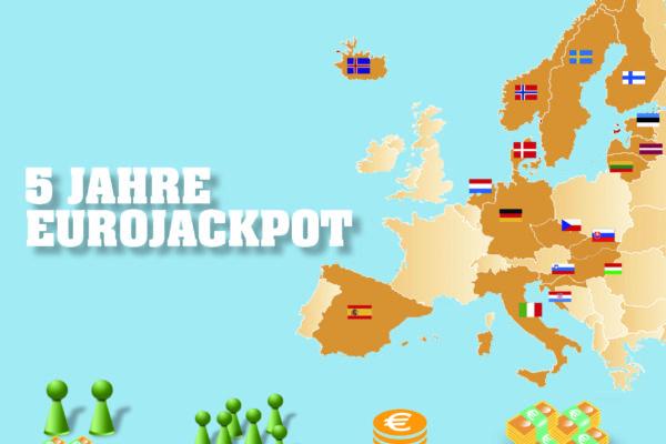 5 Jahre Eurojackpot - Gewinnerbilanz
