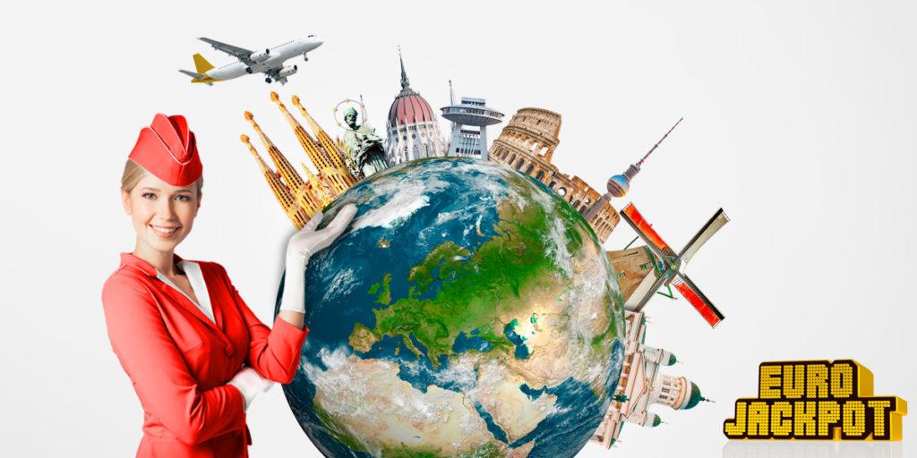 Eurojackpot wird in 17 Ländern Europas gespielt